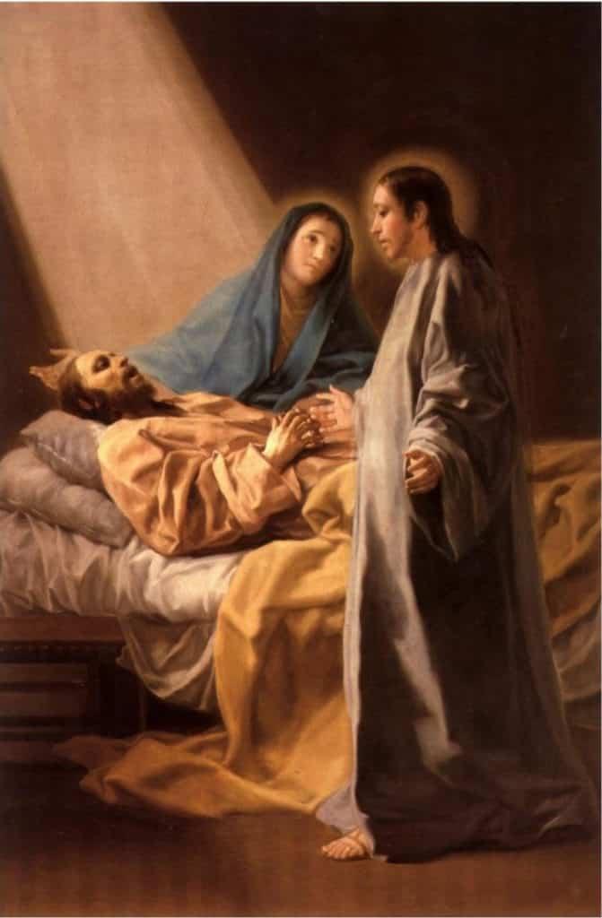 La muerte de San José o el Tránsito de San José, de Goya