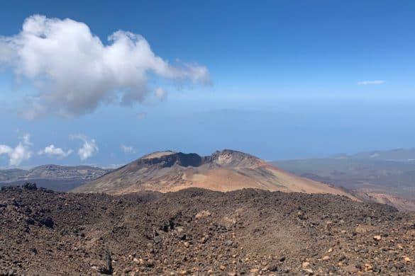 Ruta al mirador del Pico Viejo en El Teide