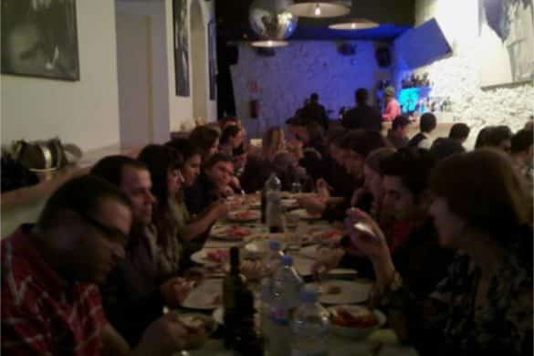 La cena (griega) de Navidad