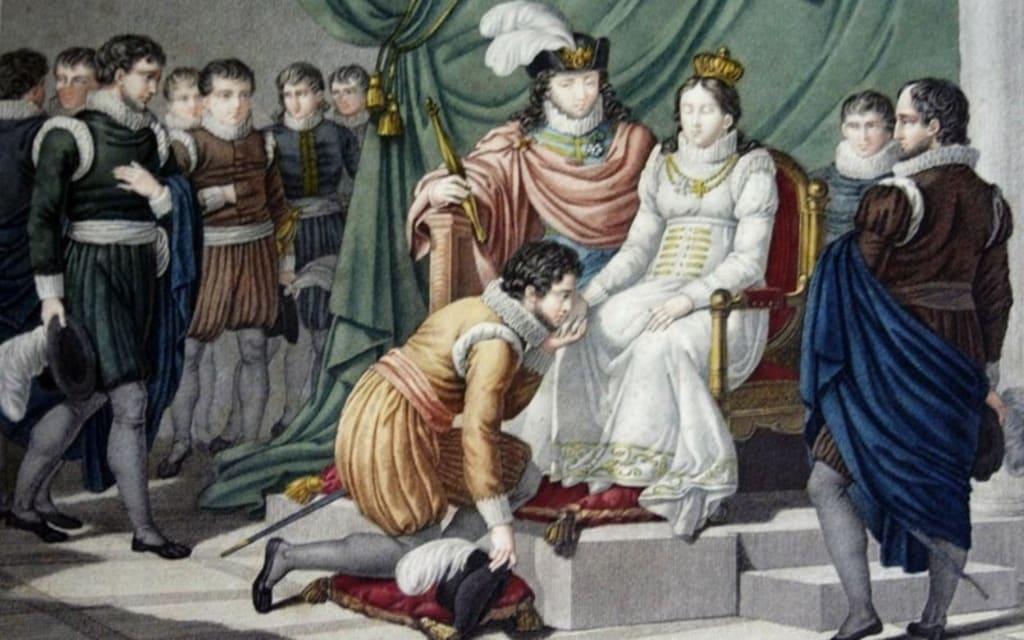 Don Pedro y la reina Inés de Castro