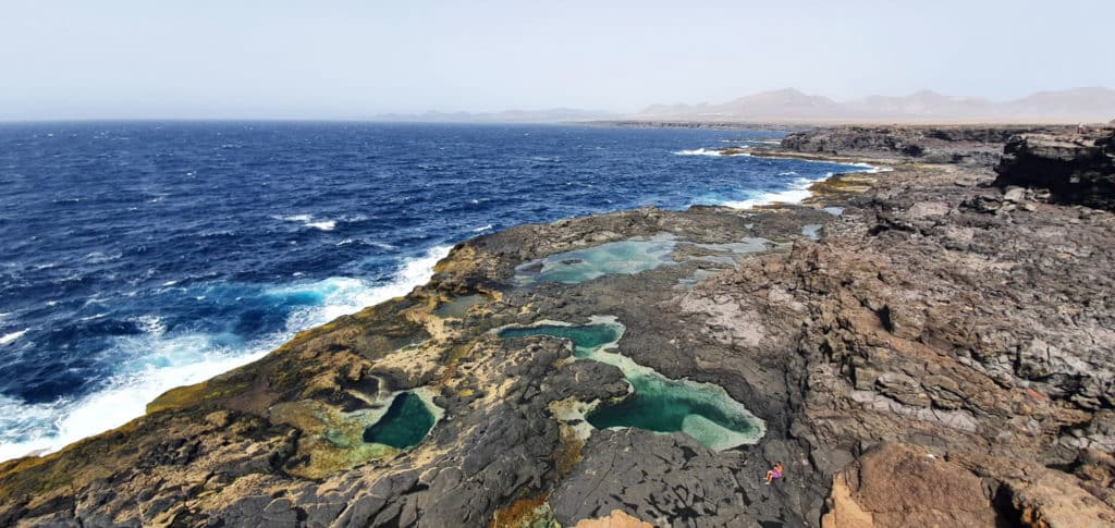 piscinas naturales en Lanzarote