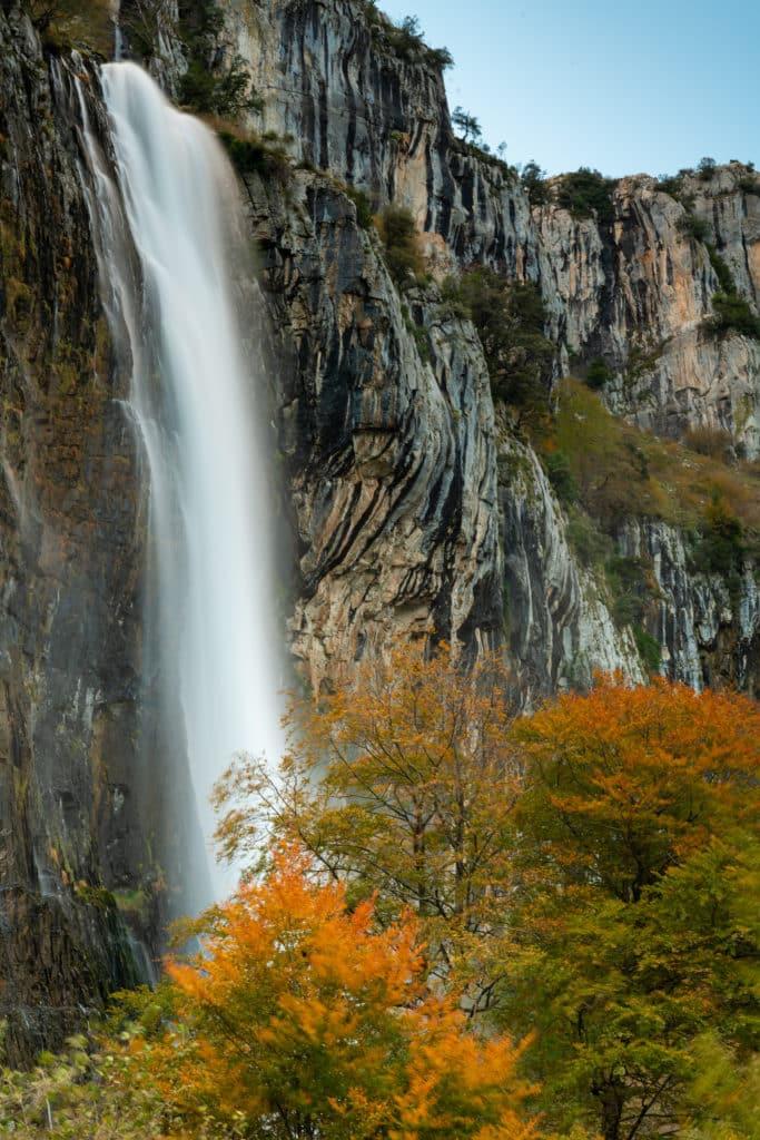 Asón river source at Collados del Asón National Park