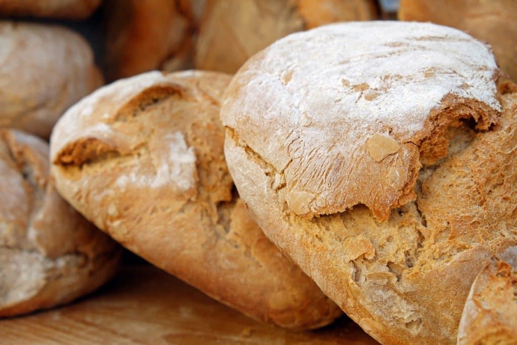 bread, loaf of bread, bread crust