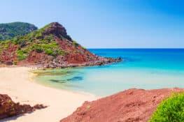 9 calas en Menorca poco frecuentadas
