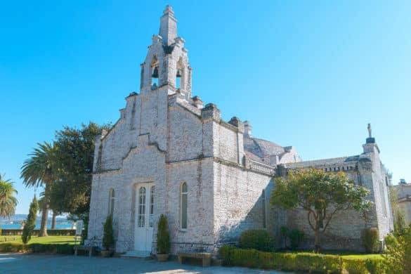 Una capilla hecha de conchas