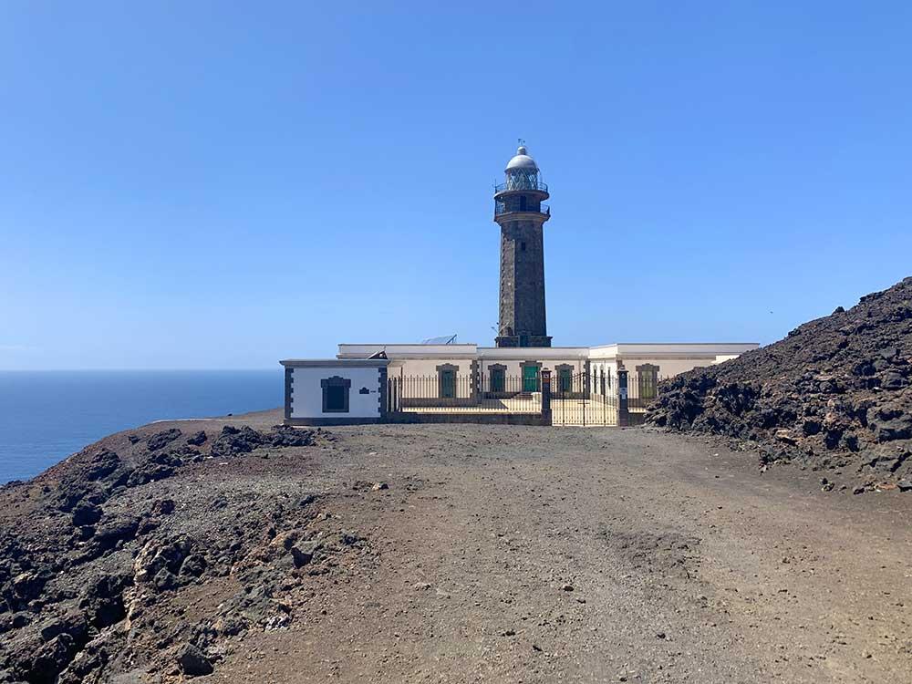 Faro de Orchilla y antiguo Meridiano Cero en el Hierro