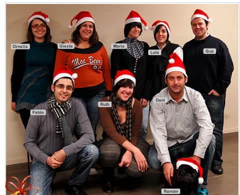 EscapadaRural y Ramón os desean feliz Navidad
