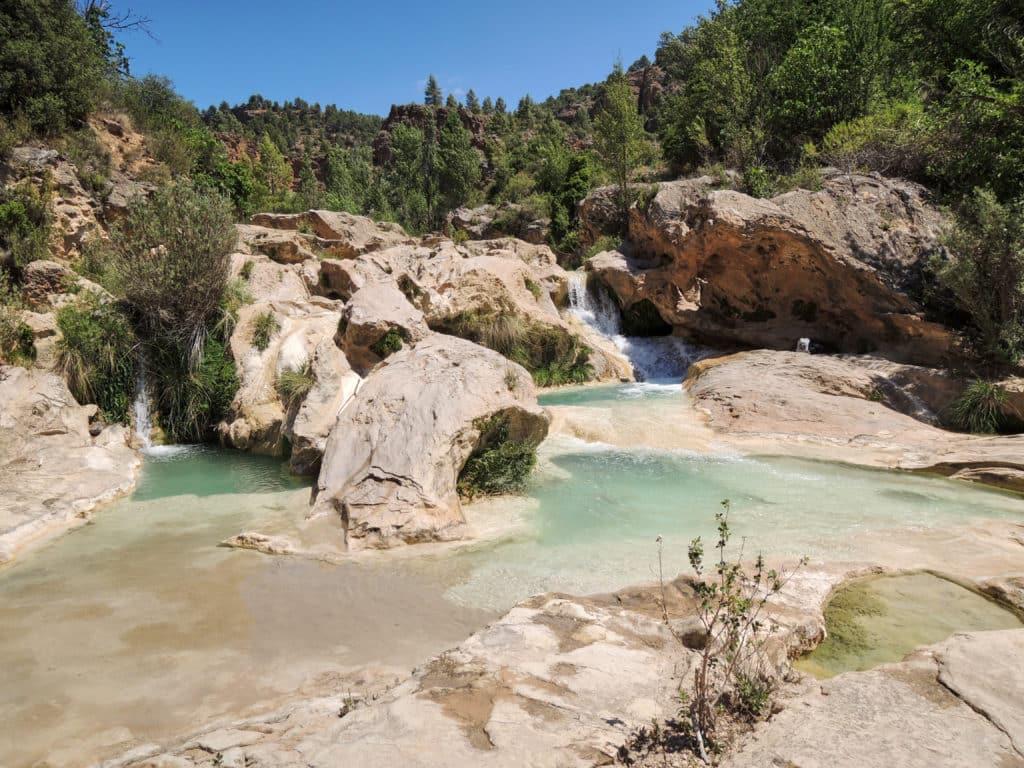 Las Chorreras del Cabriel near Endíganos, in the province of Cuenca. Castilla la Mancha. Spain