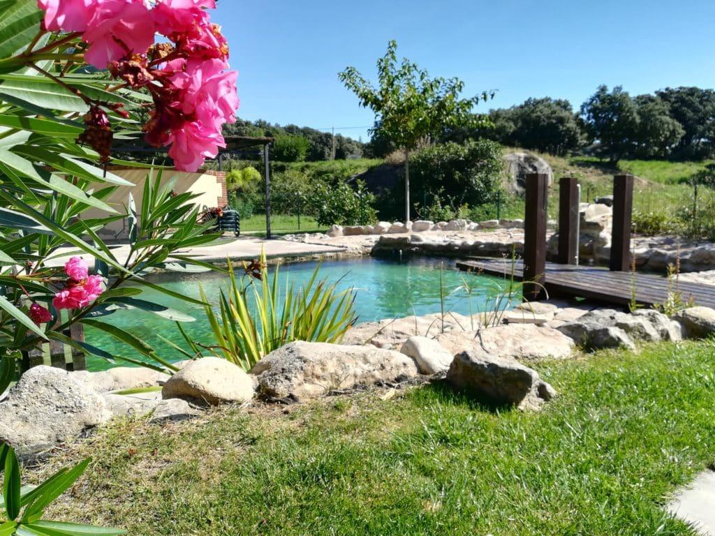 piscinas naturales en casas rurales