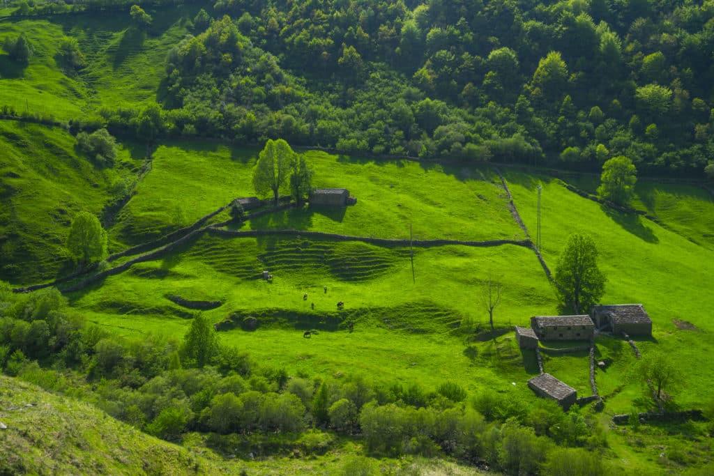 Vega de Pas, Valles Pasiegos, Cantabria, Spain, Europe