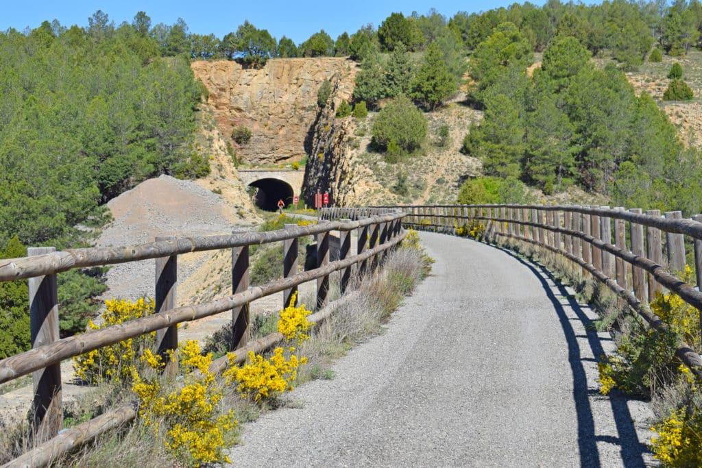 Via Verde Ojos Negros, desde Teruel hasta Valencia