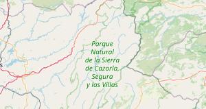Sierra De Cazorla Y Segura Mapa.Sierras De Cazorla Segura Y Las Villas Jaen Que Ver Y