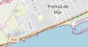 Premia De Mar Mapa.Premia De Mar Barcelona Que Ver Y Donde Dormir